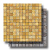 Mosaics Travertine 1 x 1 Tumbled