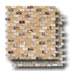 Mix Mosaic Brick 5/8 x 1 3/16