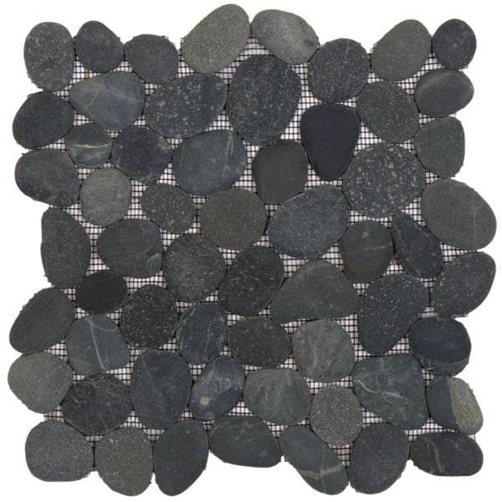 Bati Orient Pebbles Rectified Matte Black