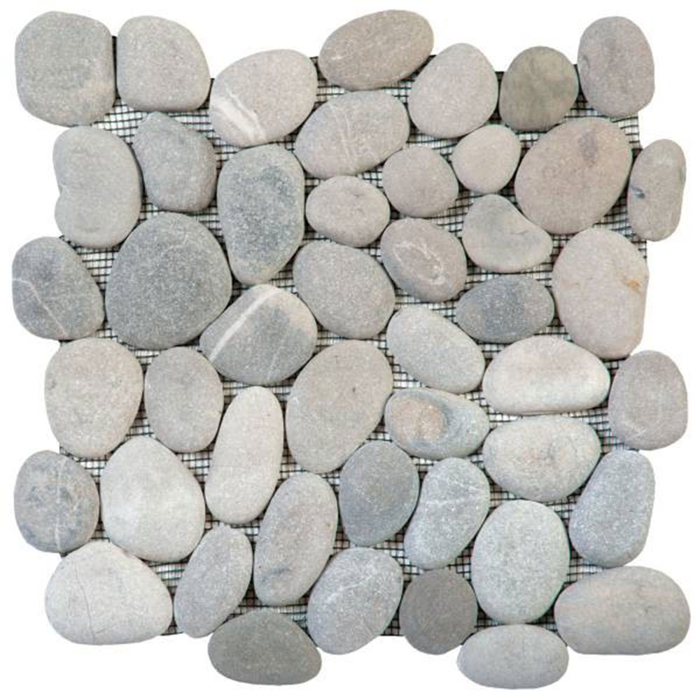 Bati Orient Pebbles Rectified Matte Mix Grey Beige