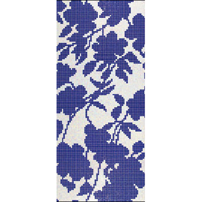 Bisazza Mosaico Decori 20 - Shadow Blue A
