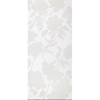 Bisazza Mosaico Decori 20 - Shadow White A