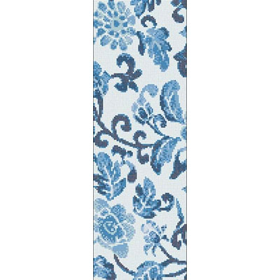 Bisazza Mosaico Decori Opus Romano - Summer Flowers Blue A