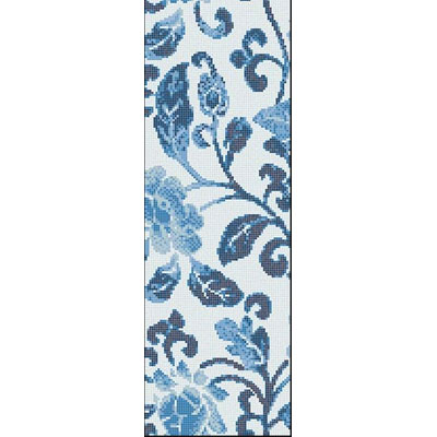 Bisazza Mosaico Decori Opus Romano - Summer Flowers Blue B