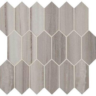 Daltile Marble Attache Linear Hex Mosaic Tile Stone Colors