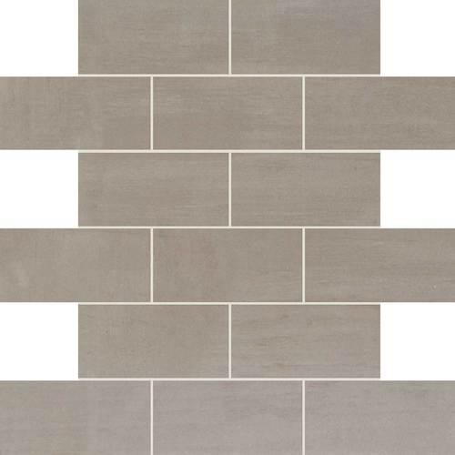 Daltile Skybridge Brick Joint Mosaic Gray