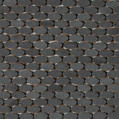 Daltile Stone A La Mod Oval Polished Mosaic Tile Amp Stone