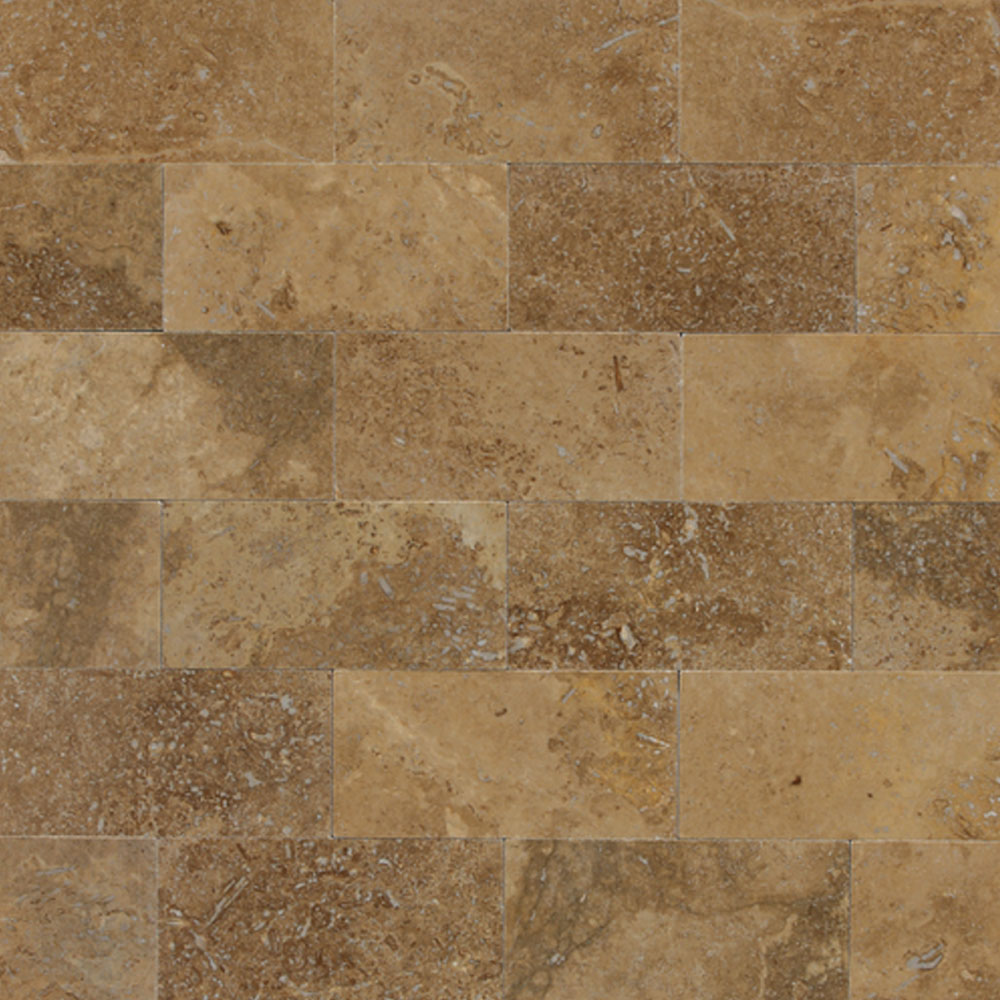 Daltile Travertine Natural Stone Honed 3 X 6 Tile Stone