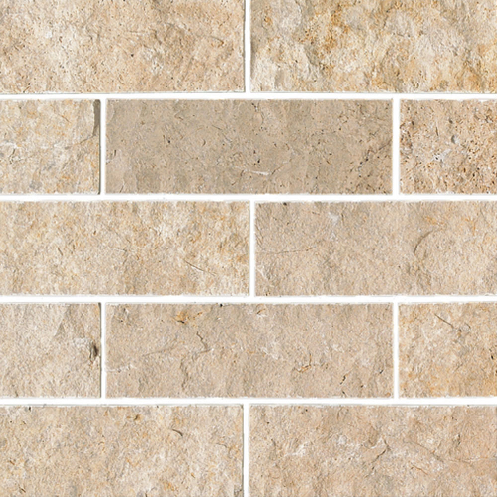 Daltile Travertine Natural Stone Split Face 4 X 12 Tile Colors