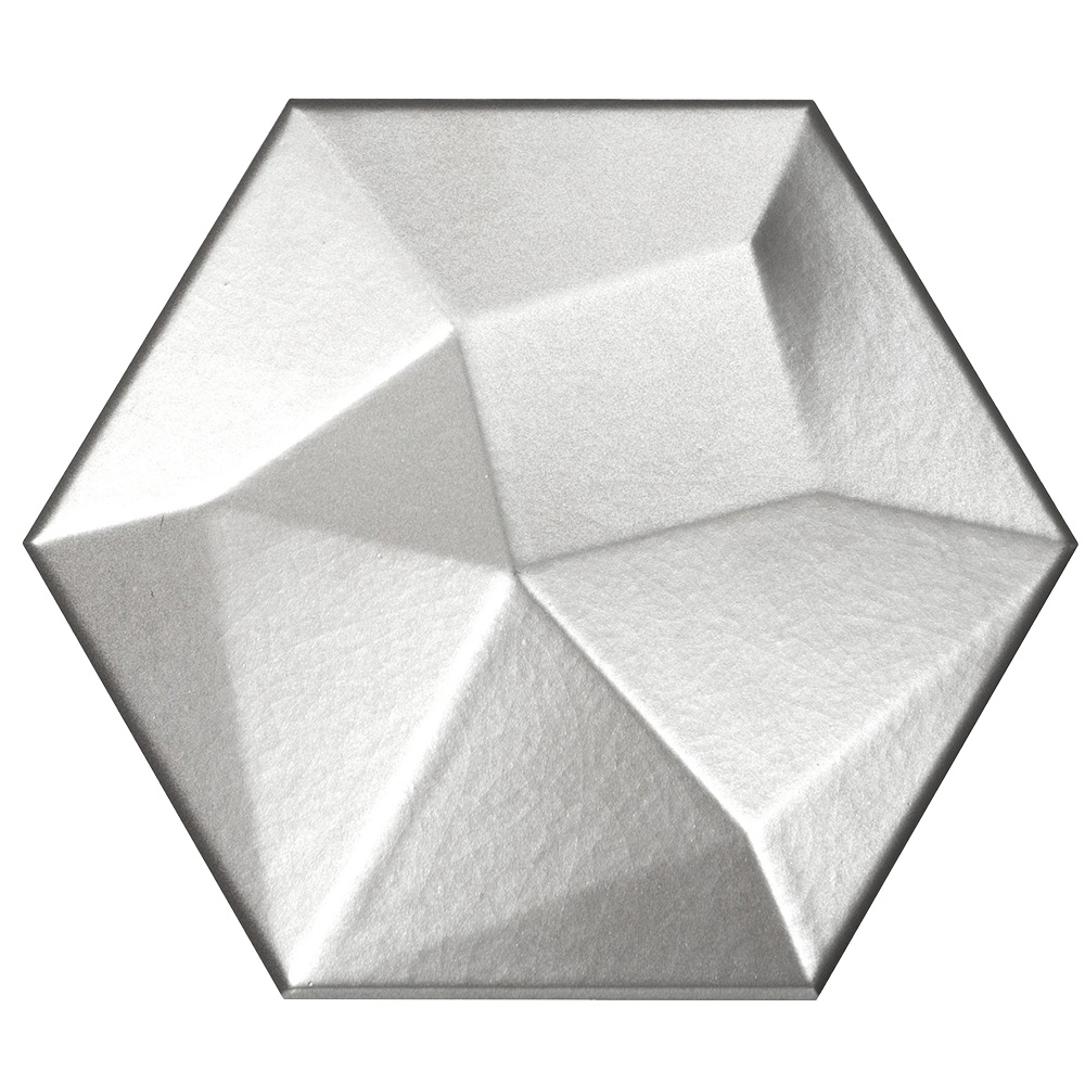 Emser Tile Code Hexagon High Metallic Hex High