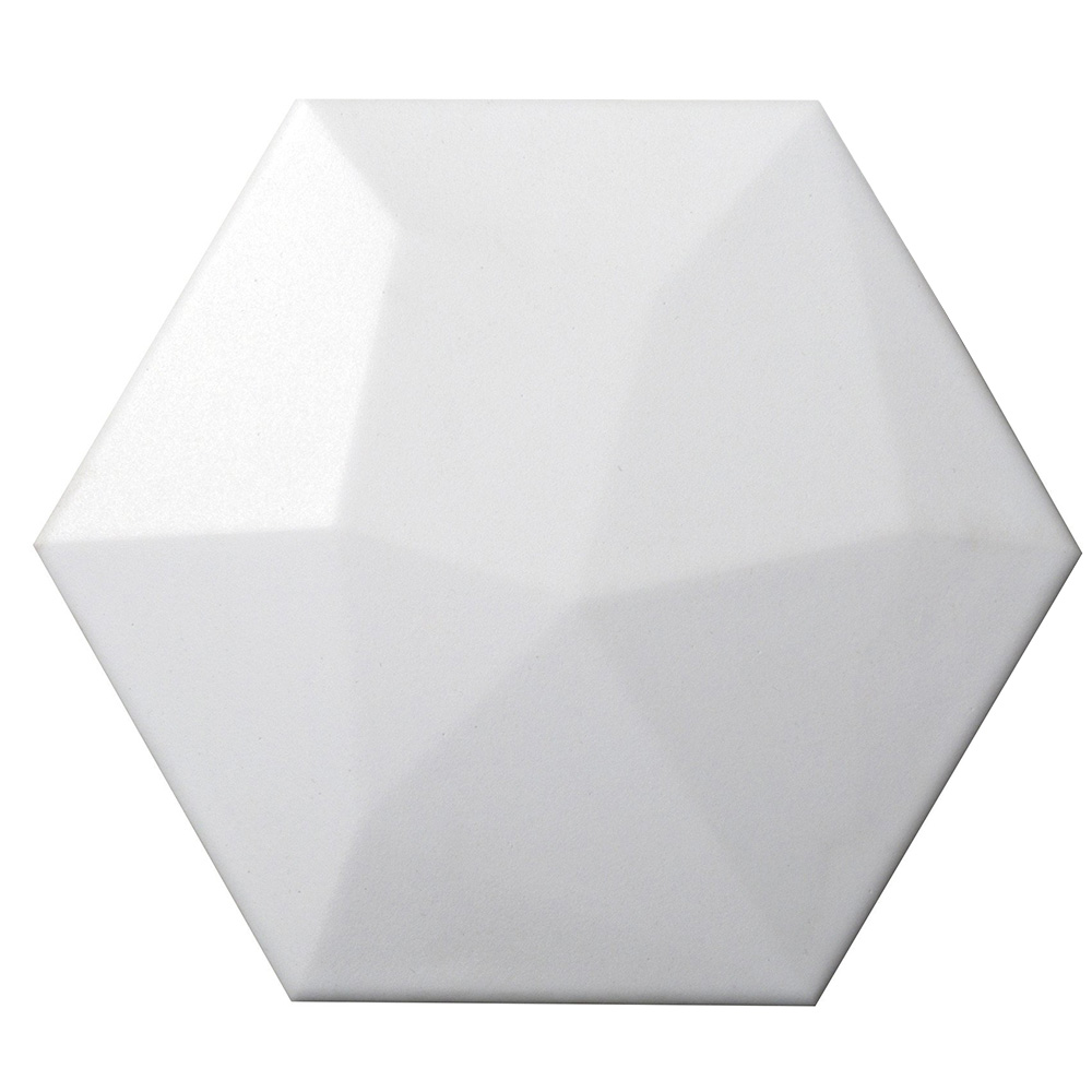 Emser Tile Code Hexagon High White Hex High