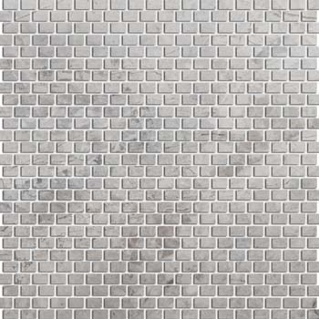 Emser Tile Marble Mini Offset Mosaic Silver