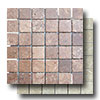 Mexican Travertine Mosaic 2 x 2