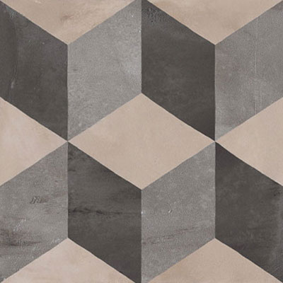 Marca Corona Terra 8 x 8 Decorative Tile Square Cubo F 0370