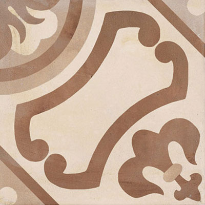 Marca Corona Terra 8 x 8 Decorative Tile Square Giglio C 0389
