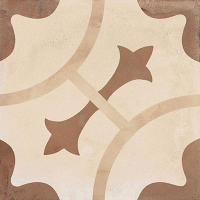 Marca Corona Terra 8 x 8 Decorative Tile Square Ornamento C 0391