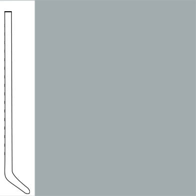 Wallflowers Wall Base 6 Cove Nickel
