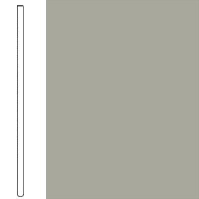 Flexco Wallflowers Wall Base 6 Straight Light Gray