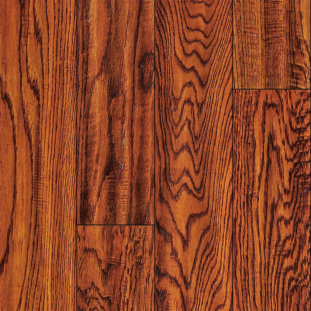 Ark Floors Artistic Distressed Solid 4 3/4 Oak Antique
