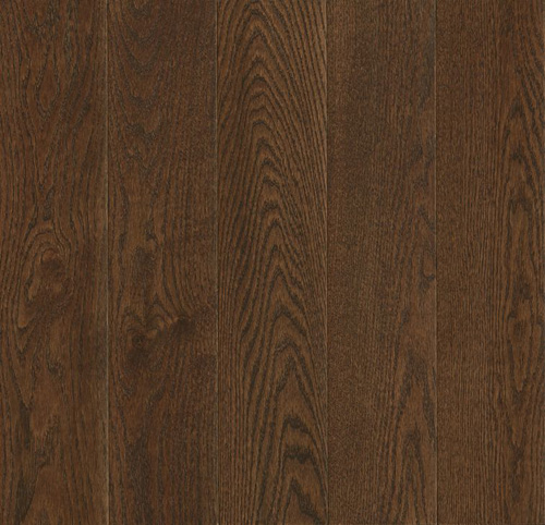 Prime Harvest Solid Oak 5 Low Gloss Cocoa Bean
