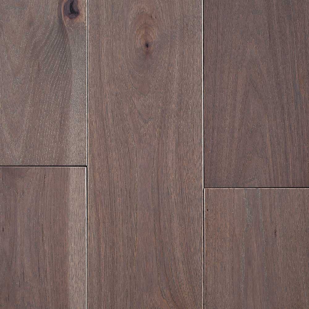 Mullican Nature Plank Solid 5 Inch Hickory Greystone