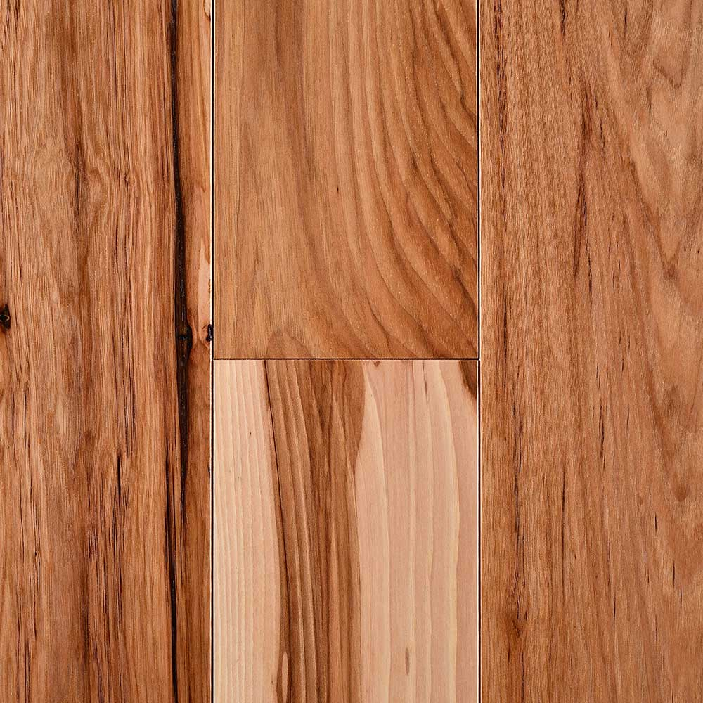 Mullican Nature Plank Solid 5 Inch Hickory Natural